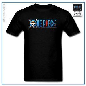 One Piece Shirt  Official Logo OP1505 Black / S Official One Piece Merch