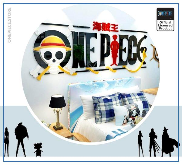 One Piece Wall Sticker  Logo OP1505 Default Title Official One Piece Merch