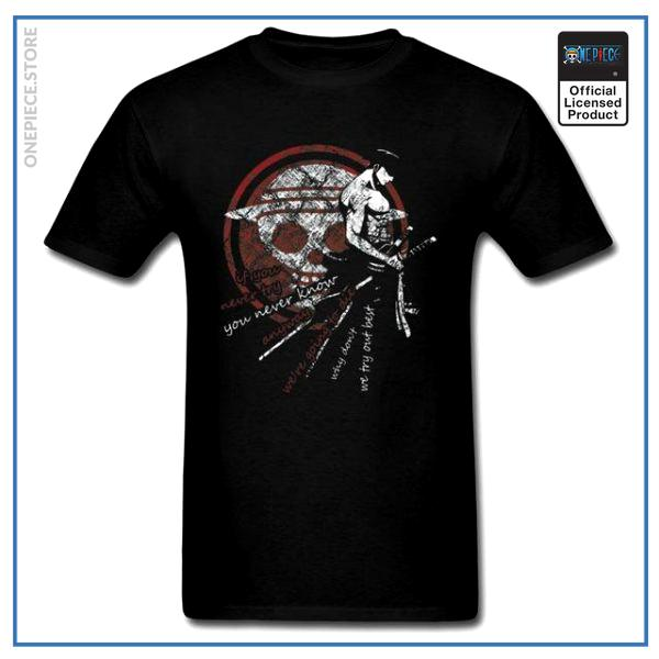 One Piece Shirt  Zoro The Pirate OP1505 S Official One Piece Merch