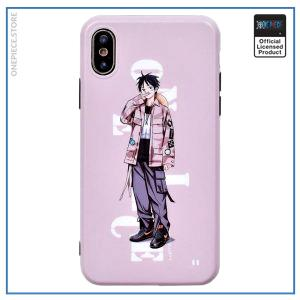 One Piece iPhone Case  Luffy Street Style OP1505 iPhone 6 6s Official One Piece Merch