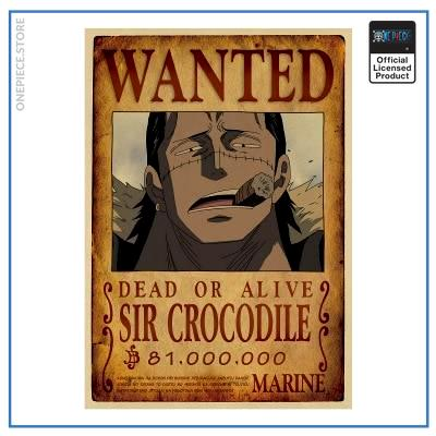 One Piece Wanted Poster  Crocodile Bounty OP1505 Default Title Official One Piece Merch