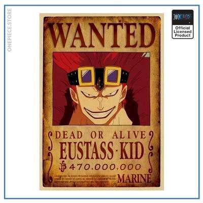 One Piece Wanted Poster  Eustass Kid Bounty OP1505 Default Title Official One Piece Merch