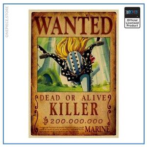 One Piece Wanted Poster  Killer Bounty OP1505 Default Title Official One Piece Merch