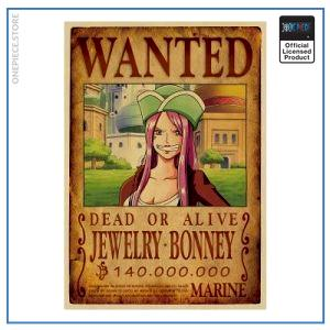 One Piece Wanted Poster  Jewelry Bonney Bounty OP1505 Default Title Official One Piece Merch