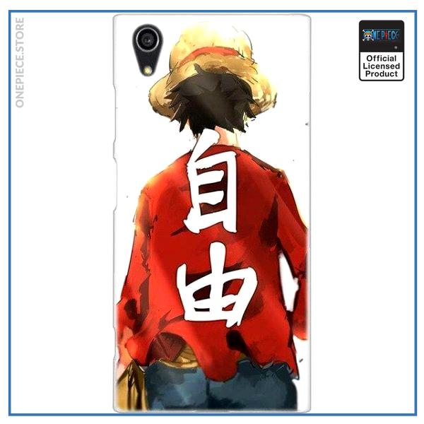 One Piece Sony Case  Hero Luffy OP1505 for Sony Z5 Official One Piece Merch