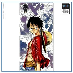 One Piece Sony Case  Manga Luffy OP1505 for Sony Z5 Official One Piece Merch