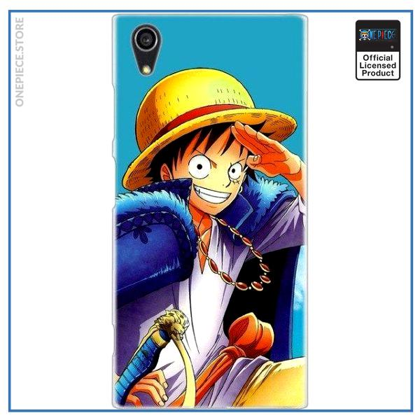 One Piece Sony Case  Blue Luffy OP1505 for Sony Z5 Official One Piece Merch