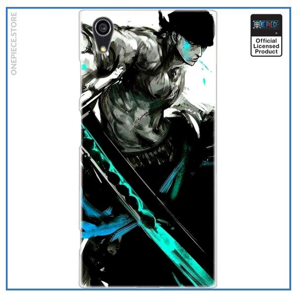 One Piece Sony Case  Zoro (Blue) OP1505 for Xperia XA Official One Piece Merch