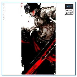One Piece Sony Case  Zoro (Red) OP1505 for Xperia X Official One Piece Merch