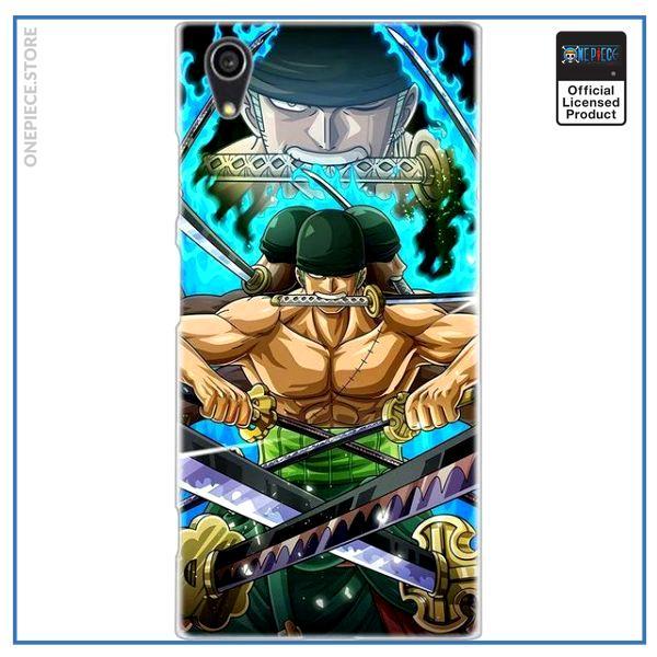 One Piece Sony Case  Zoro Asura OP1505 for Xperia E5 Official One Piece Merch