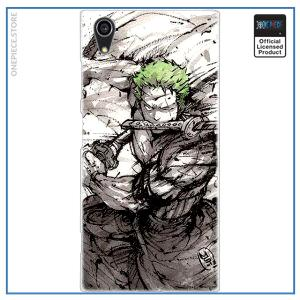 One Piece Sony Case  Zoro Ink Style OP1505 for Xperia L3 Official One Piece Merch