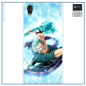 One Piece Sony Case  Zoro Dragon Twister OP1505 for Xperia L3 Official One Piece Merch
