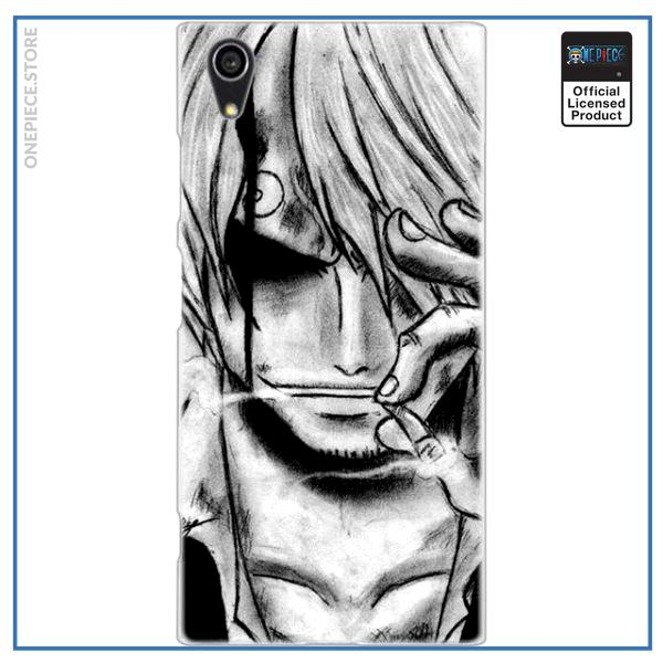 One Piece Sony Case  Vinsmoke Sanji OP1505 for Xperia L3 Official One Piece Merch