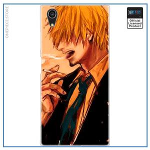 One Piece Sony Case  Smoking Sanji OP1505 for Xperia L2 Official One Piece Merch
