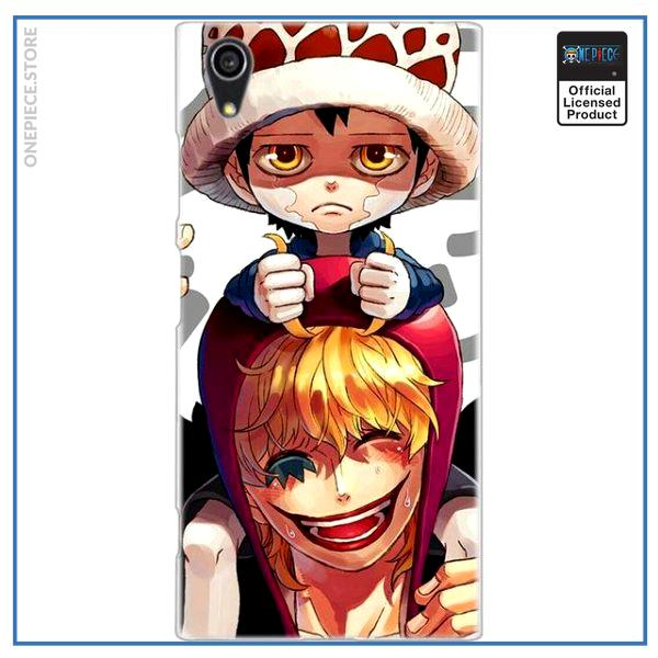 One Piece Sony Case  Corazon and Law OP1505 Xperia XZ2 Official One Piece Merch