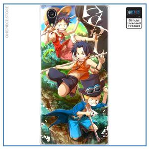 One Piece Sony Case  The 3 Brothers OP1505 for Xperia XA3 Official One Piece Merch