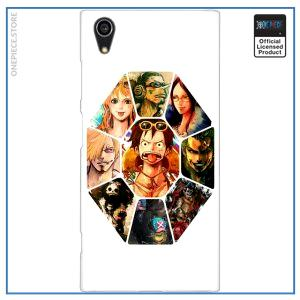 One Piece Sony Case  Straw Hat Pirates OP1505 for Xperia XA2 Plus Official One Piece Merch
