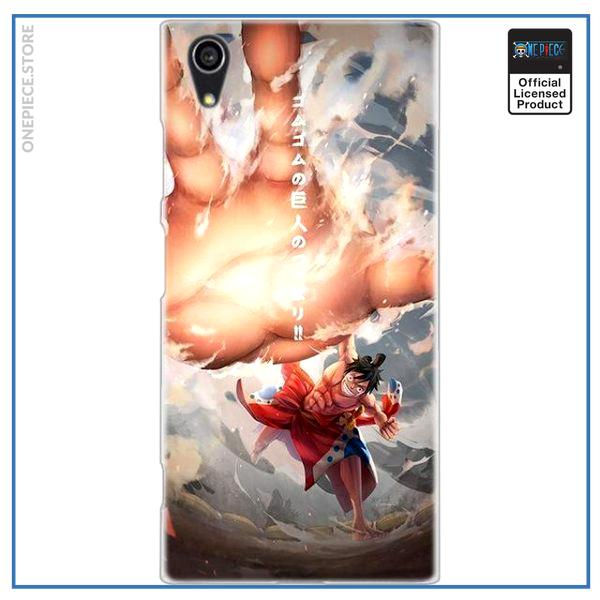 One Piece Sony Case  Sumo Luffy OP1505 for Xperia XA2 Official One Piece Merch