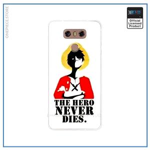 One Piece LG Case  Pirate King Luffy OP1505 for LG k10 2018 Official One Piece Merch