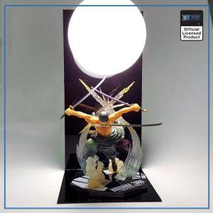 One Piece 3D Lamp  Roronoa Zoro OP1505 Default Title Official One Piece Merch
