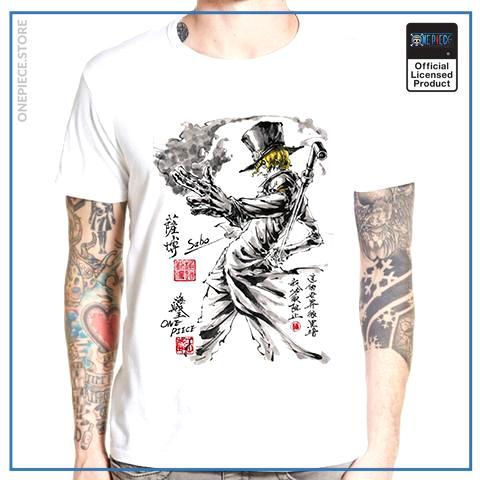 One Piece Shirt  Sabo OP1505 S Official One Piece Merch