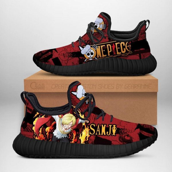 sanji reze shoes one piece anime shoes fan gift idea tt04 - One Piece Store