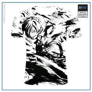 One Piece Shirt <br> Sanji Splash Art OP1505 S Official One Piece Merch