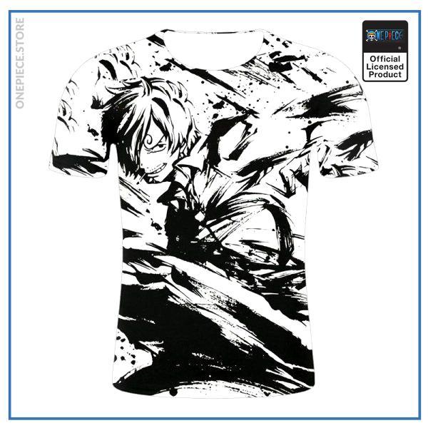 One Piece Shirt  Sanji Splash Art OP1505 S Official One Piece Merch