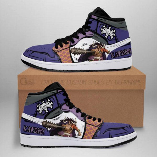 yonko kaido jordan sneakers one piece anime shoes fan gift mn06 - One Piece Store