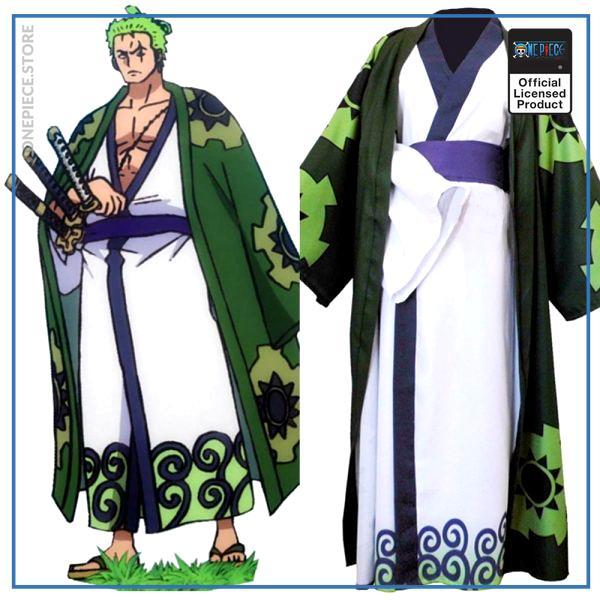 One Piece Costume  Zoro Wano Kuni OP1505 S Official One Piece Merch