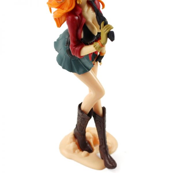 19cm One Piece Action Figures Nami Treasure Cruise World Journey Anime Model Toys 3 - One Piece Store