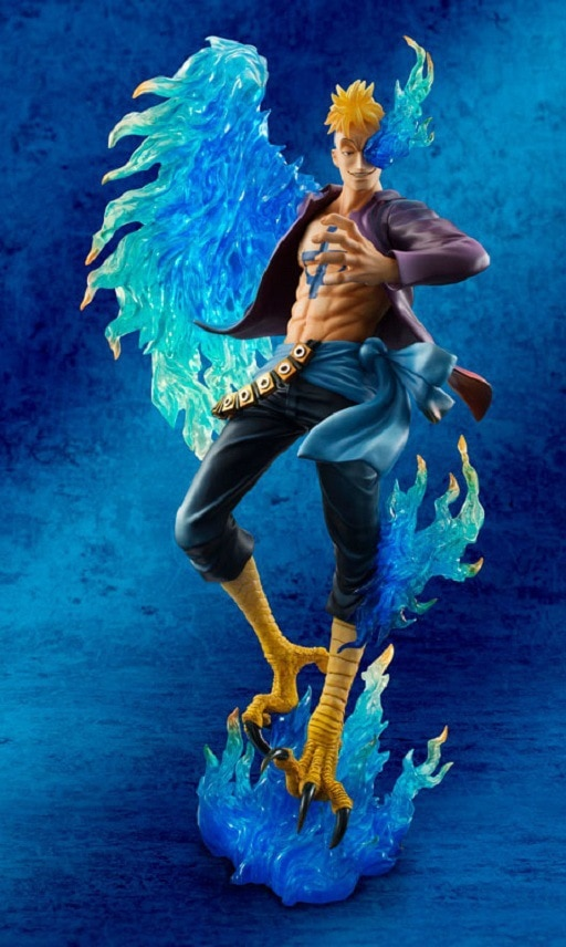 25cm One piece Marco Action Anime Action Figure PVC New Collection figures toys for christmas gift 3 - One Piece Store