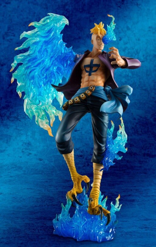 25cm One piece Marco Action Anime Action Figure PVC New Collection figures toys for christmas gift 4 - One Piece Store
