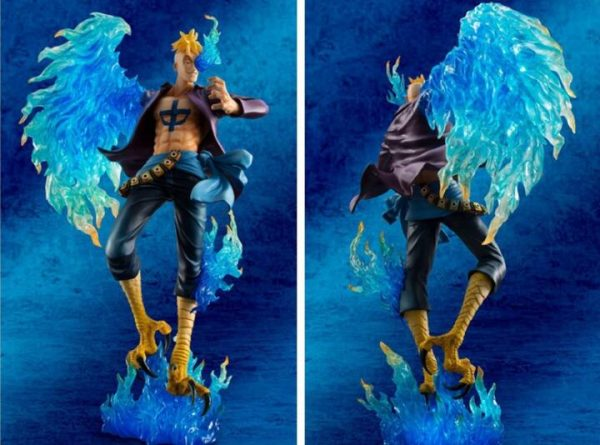 25cm One piece Marco Action Anime Action Figure PVC New Collection figures toys for christmas gift - One Piece Store
