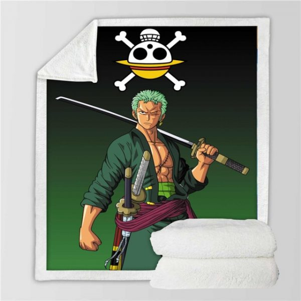 Anime One Piece 3D Printing Plush Fleece Blanket Adult Fashion Quilts Home Office Washable Duvet Casual 24.jpg 640x640 24 - One Piece Store
