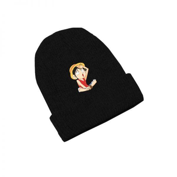 Chopper Monkey D Luffy Straw Hat Anime Skullies Caps Knitted Beanies Winter Warm Hats Men Women 1 - One Piece Store