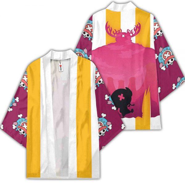 Tony Tony Chopper Kimono Anime One Piece Otaku Merch Clothes GOT1308 Unisex / S Official One Piece Merch