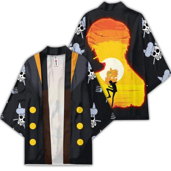 Vinsmoke Sanji Kimono Anime One Piece Otaku Merch Clothes GOT1308 Unisex / S Official One Piece Merch