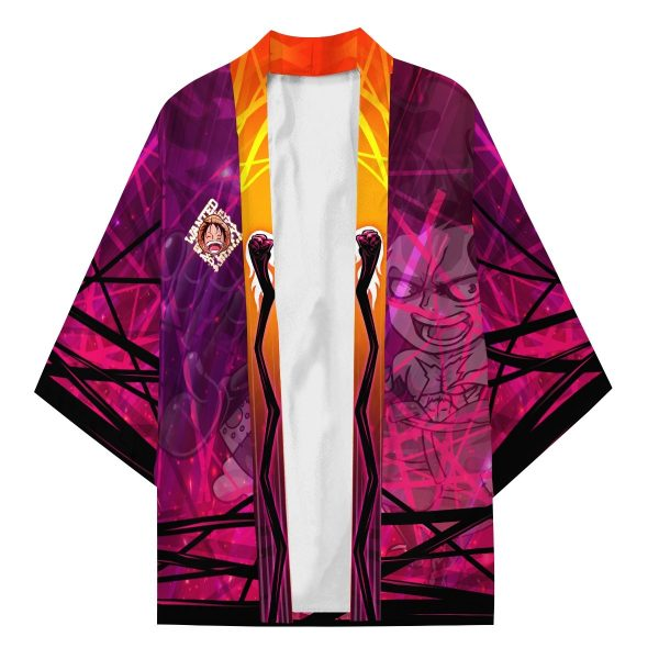 luffy gear fourth kimono 106754 - One Piece Store