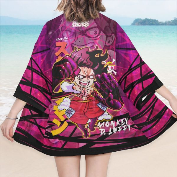 luffy gear fourth kimono 709456 - One Piece Store