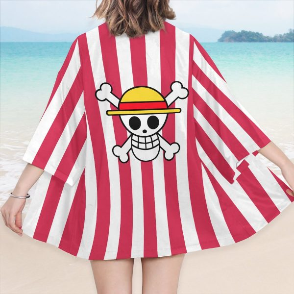 strawhat pirate kimono 223680 - One Piece Store