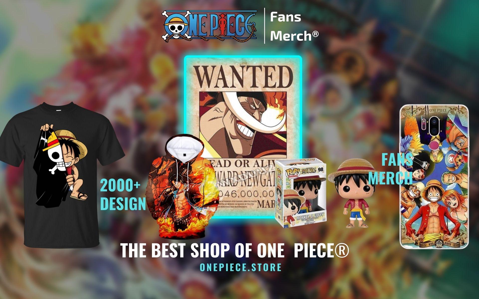One Piece Merch Web Banner - One Piece Store